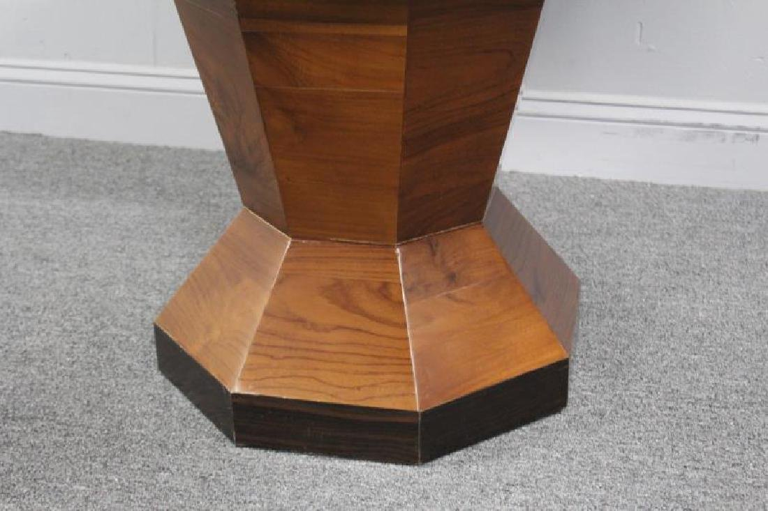 Modern Rosewood Inlaid Center Table. - 2