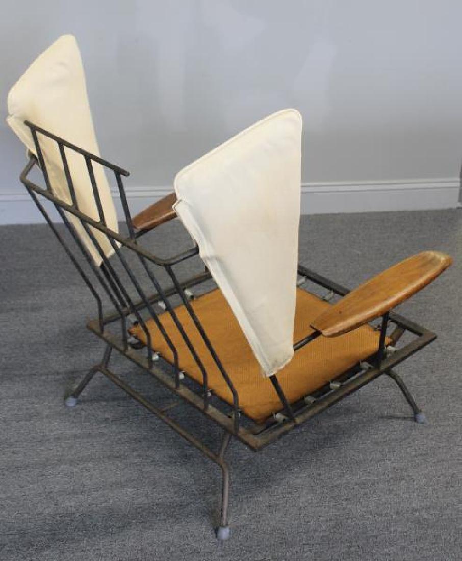 Rare Midcentury Adrian Pearsall Iron Lounge Chair. - 3