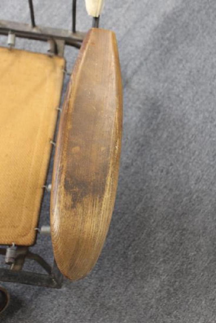 Rare Midcentury Adrian Pearsall Iron Lounge Chair. - 5