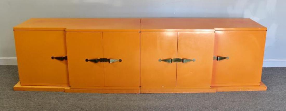 Midcentury Tommi Parzinger Sideboard Cabinet.
