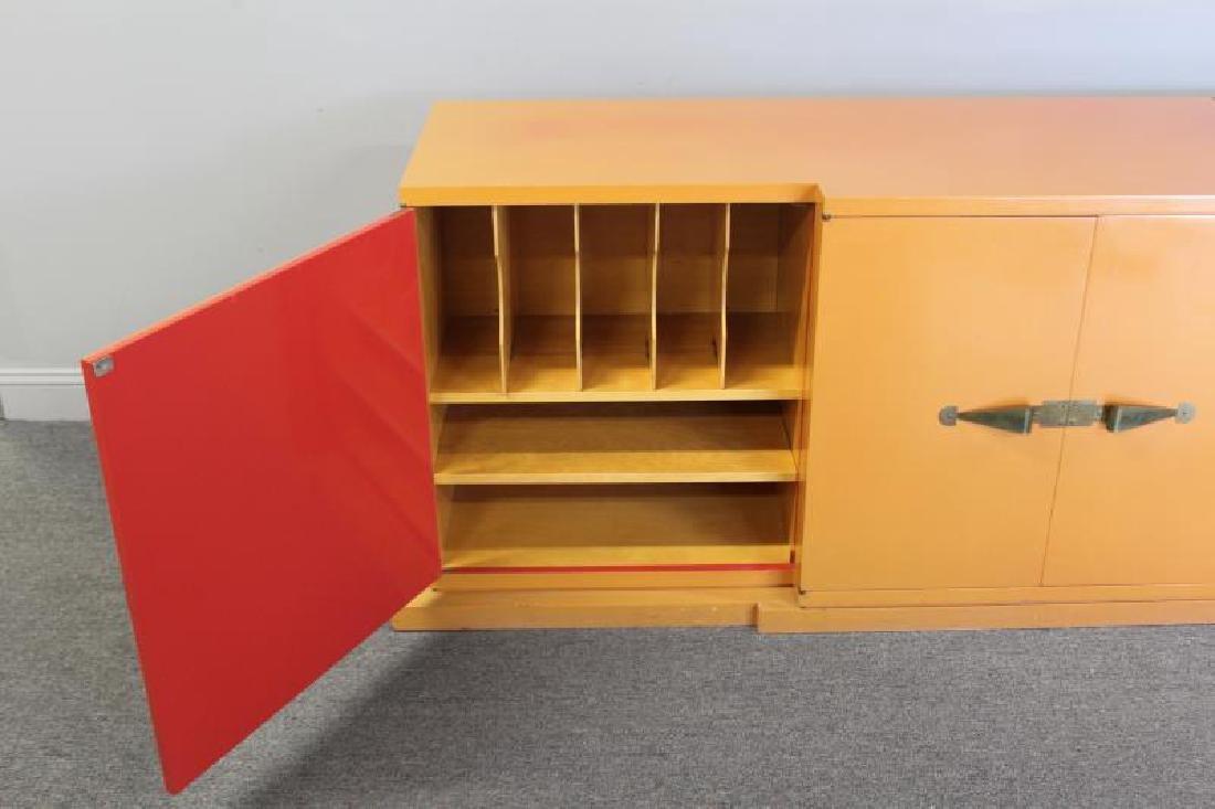 Midcentury Tommi Parzinger Sideboard Cabinet. - 3
