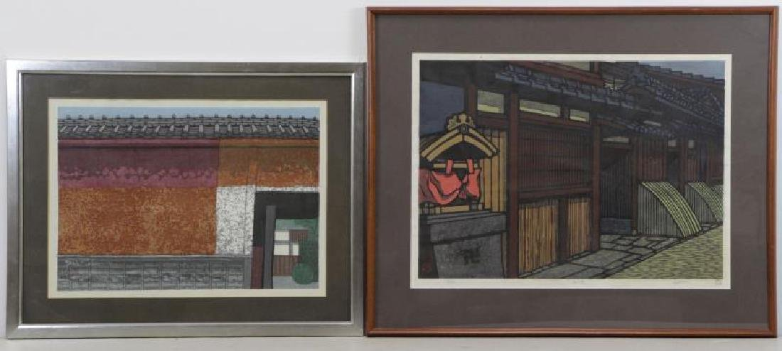 Two 20th Century Japanese Woodblock Prints.