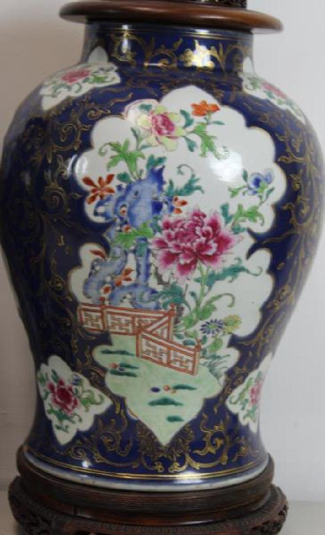 A Pair of Fine Quality Porcelain Enamel Decorated - 6