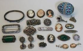 JEWELRY. Assorted Antique and Vintage Jewelry and