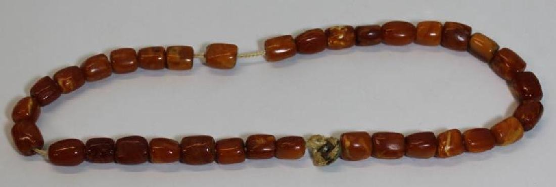 JEWELRY. Assorted Grouping of Amber Jewelry - 5