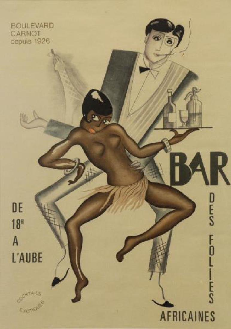 "Attributed to Paul Colin ""Bar Des Folies"
