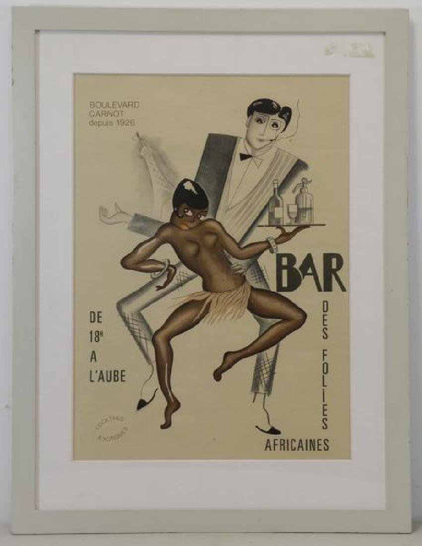 "Attributed to Paul Colin ""Bar Des Folies - 2"