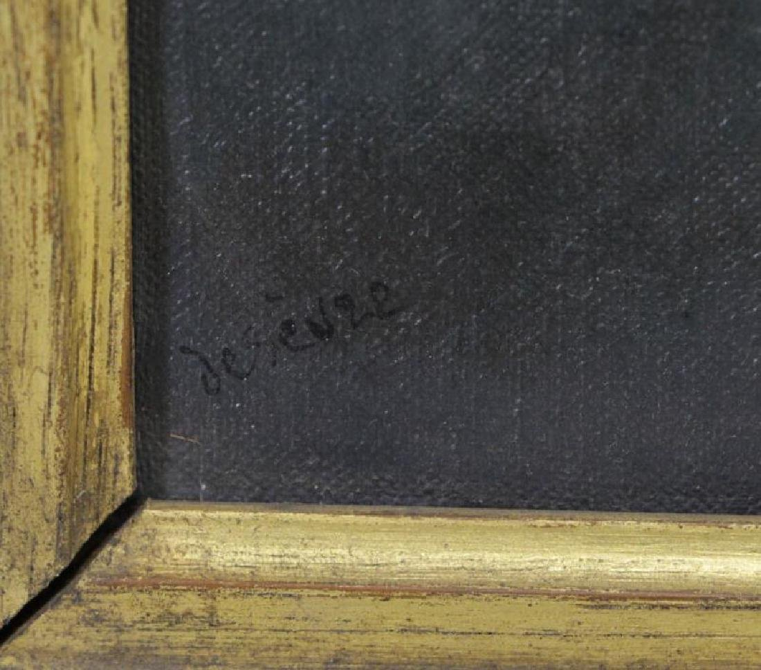 Signed 1925 Oil on Canvas Portrait of a Man. - 4