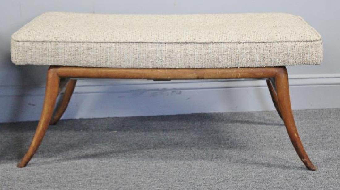 Midcentury Pair of Robsjohn-Gibbings Benches. - 2