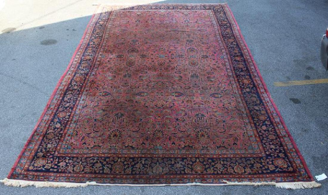 Finely Woven Antique Roomsize Handmade
