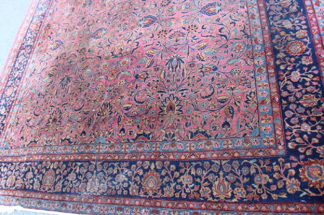 Finely Woven Antique Roomsize Handmade - 3