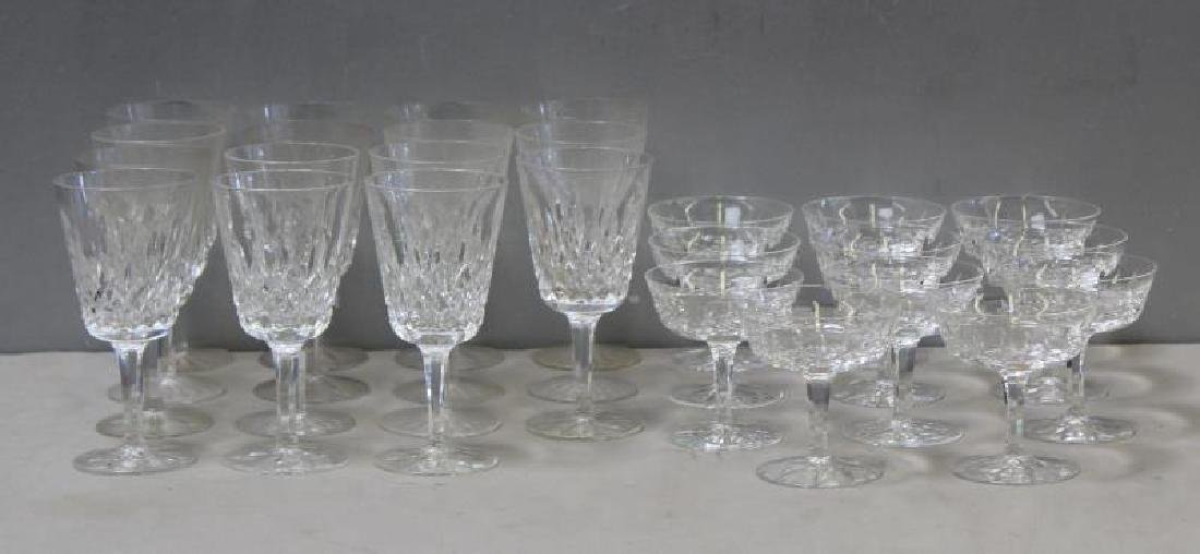 Lot of Waterford Cut Glass Stemware To Inc,