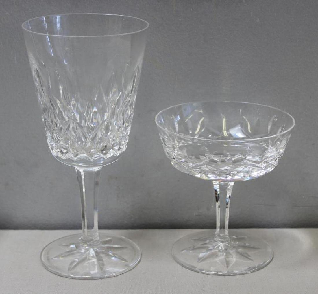 Lot of Waterford Cut Glass Stemware To Inc, - 2