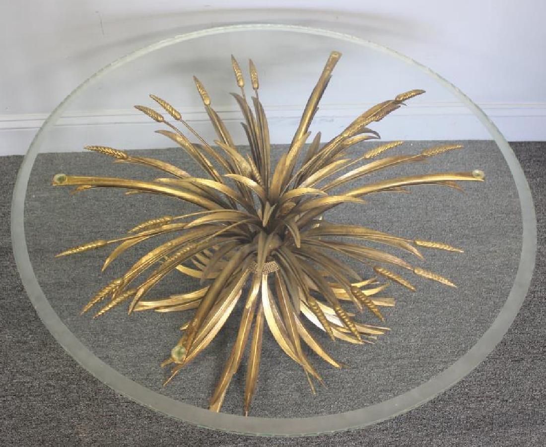 Decorative Lot To Inc A Gilt Metal Wheat Sheaf