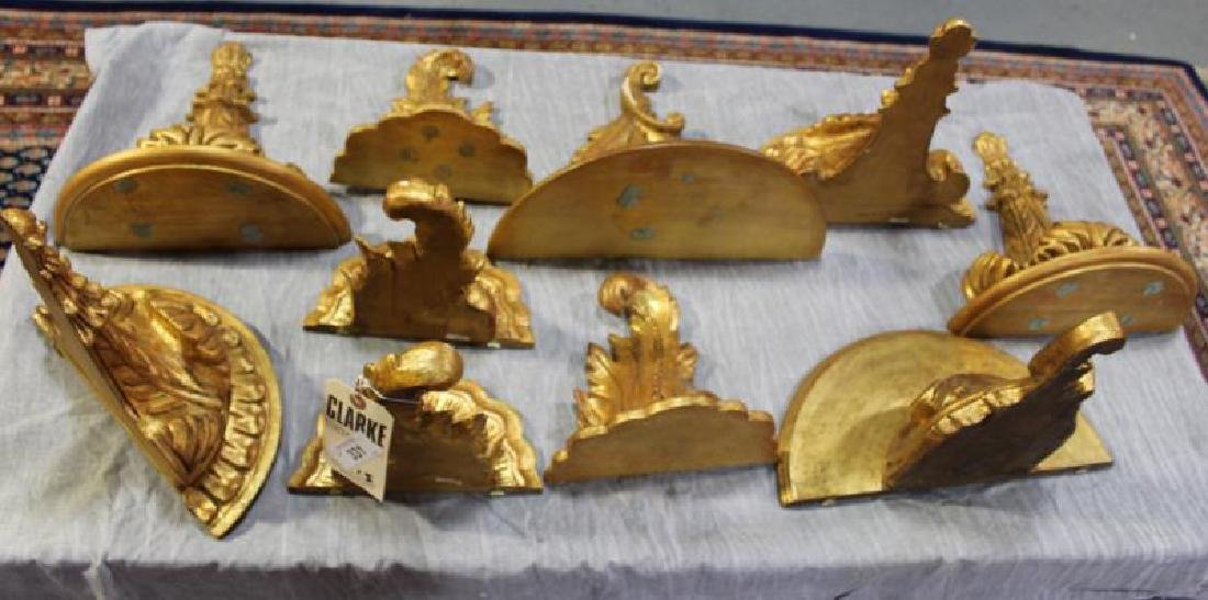 Decorative Lot To Inc A Gilt Metal Wheat Sheaf - 3