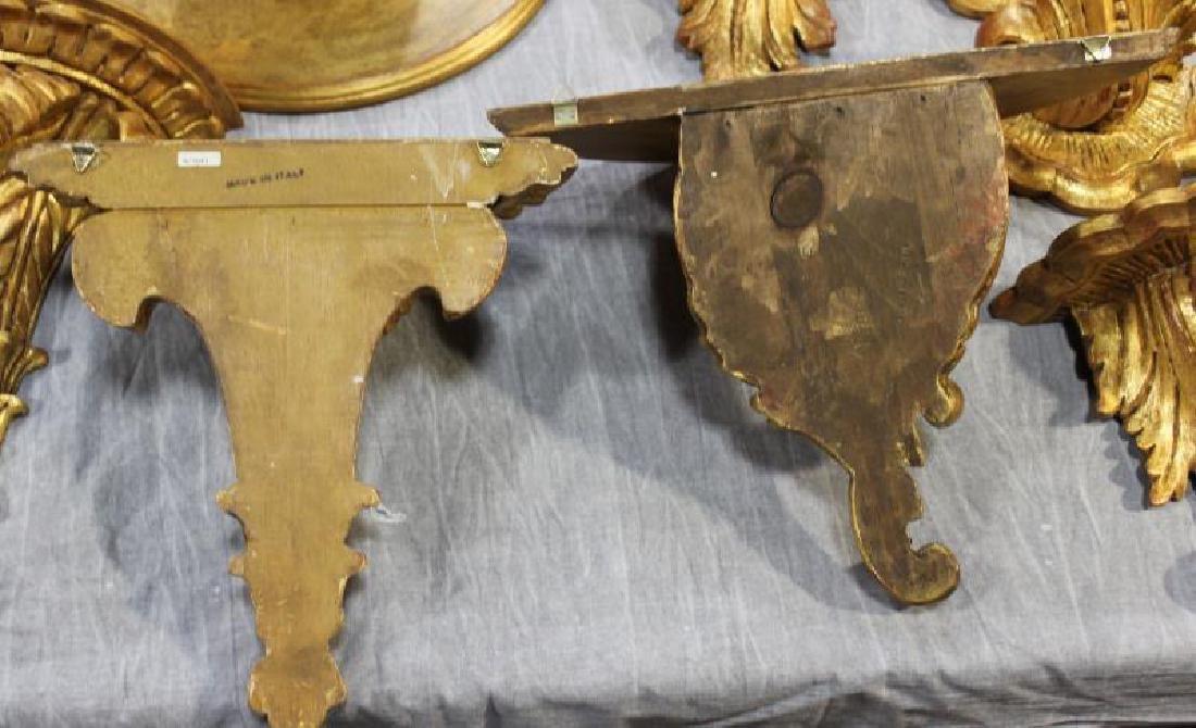 Decorative Lot To Inc A Gilt Metal Wheat Sheaf - 5