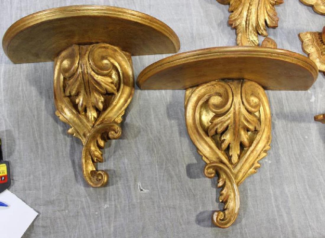 Decorative Lot To Inc A Gilt Metal Wheat Sheaf - 6