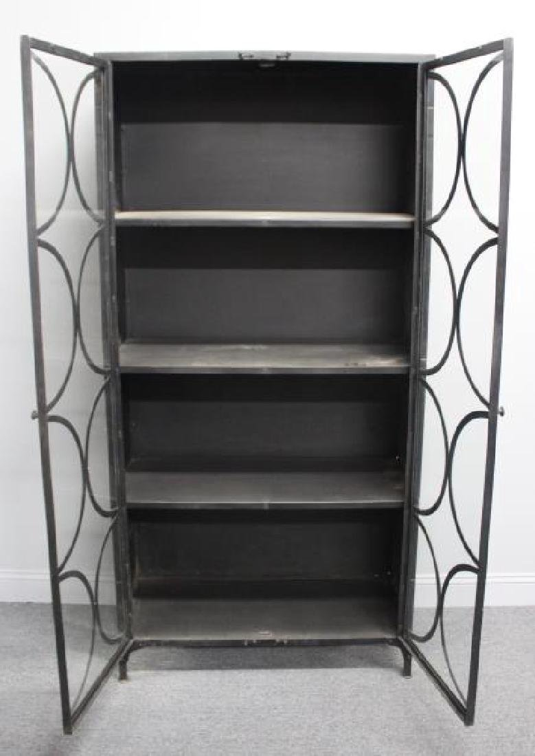 Decorative Industrial Style Metal Cabinet. - 3