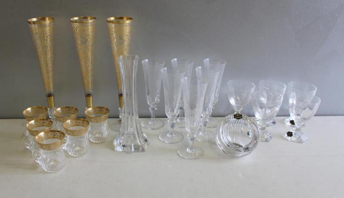 Lot of Fine Crystal Including Saint Louis,