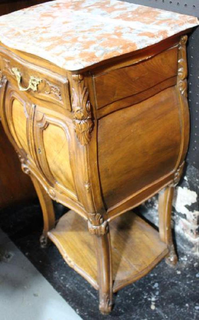 Marble Top Stand. - 3