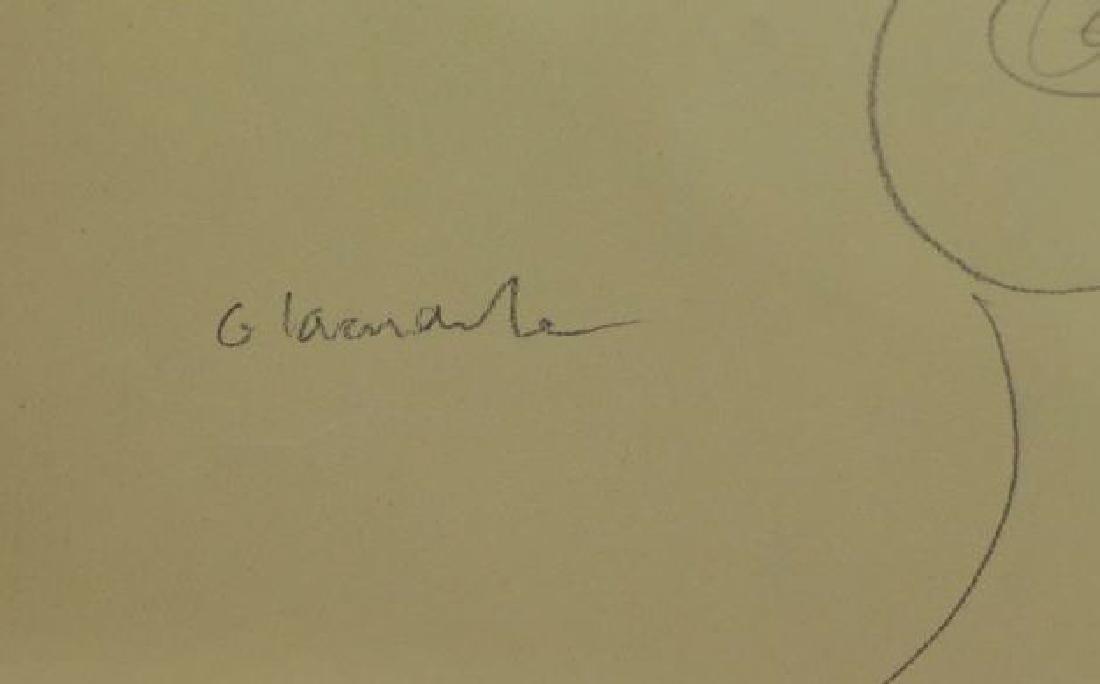 LACHAISE, Gaston. Pencil on Paper. Female Nude. - 4