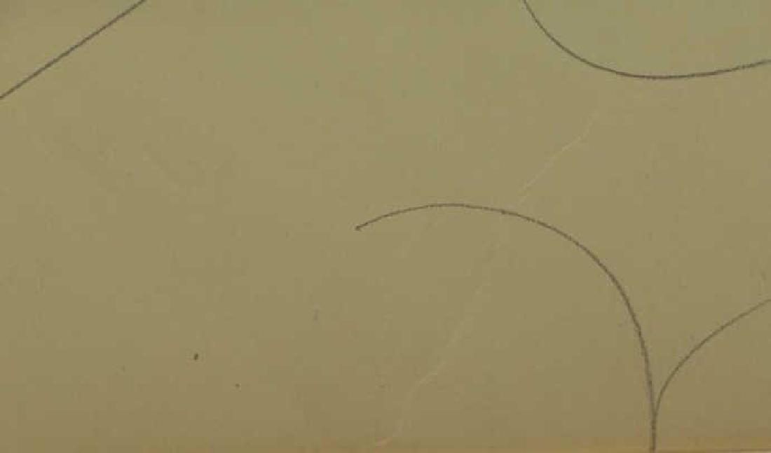 LACHAISE, Gaston. Pencil on Paper. Female Nude. - 5