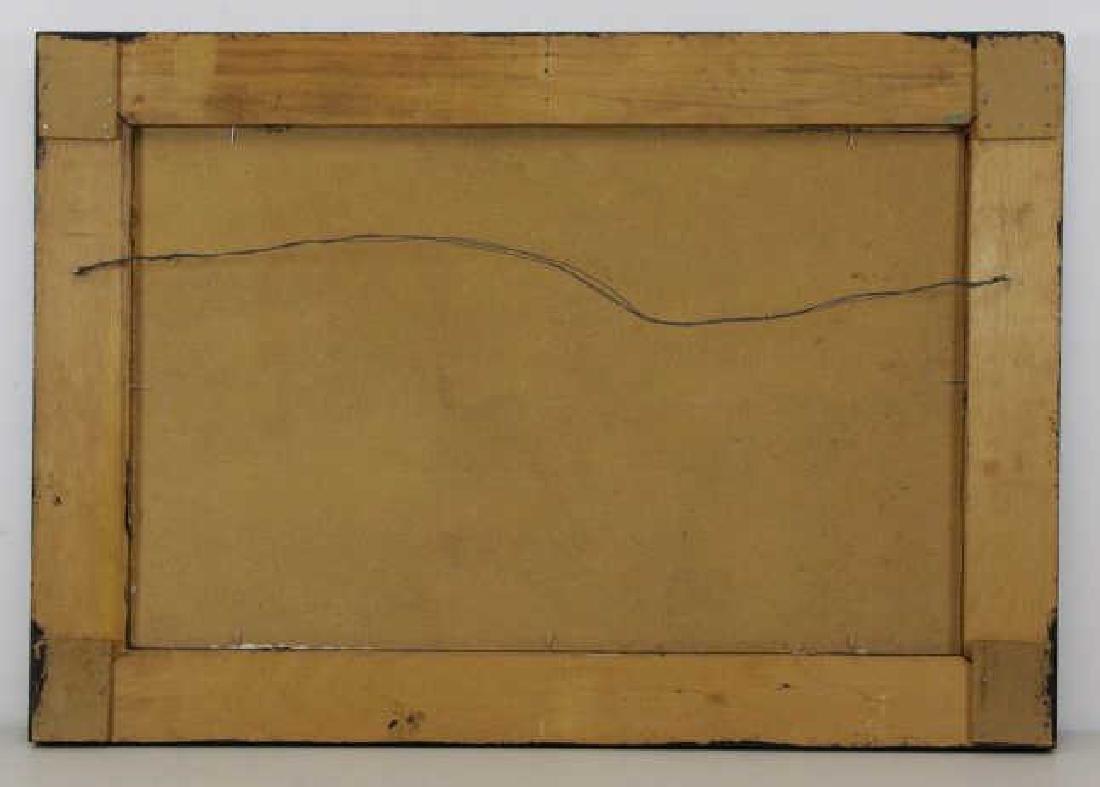 HORNAK, Ian. Oil on Board. Landscape at Sunset. - 7