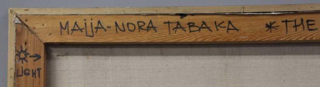 """TABAKA, Maija Nora. Oil on Canvas. """"The Gypsies in - 10"""