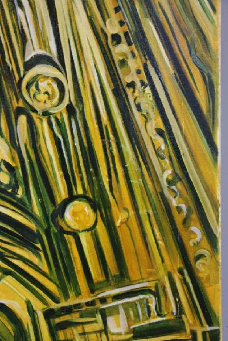 """AVORA, Emi. Oil on Canvas. """"New But Ancient"""" 2007. - 6"""