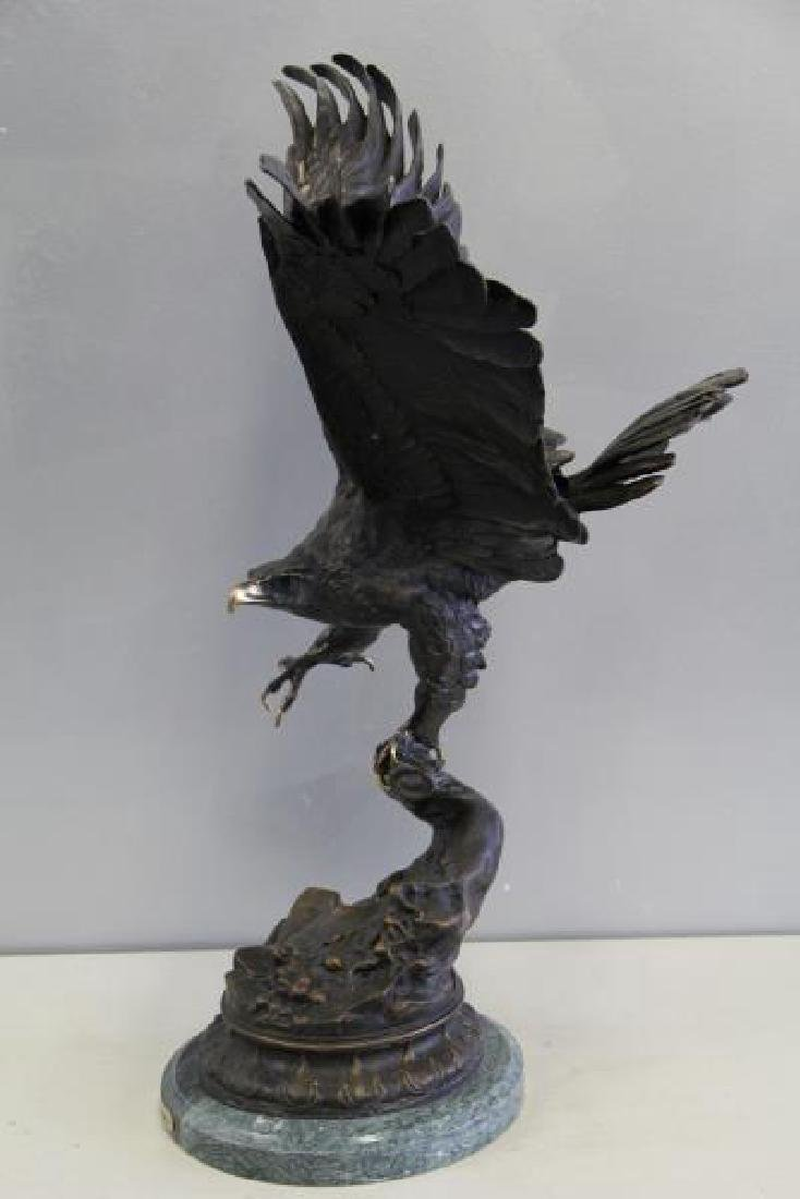 AFTER MOIGNIEZ. Bronze Sculpture. - 4
