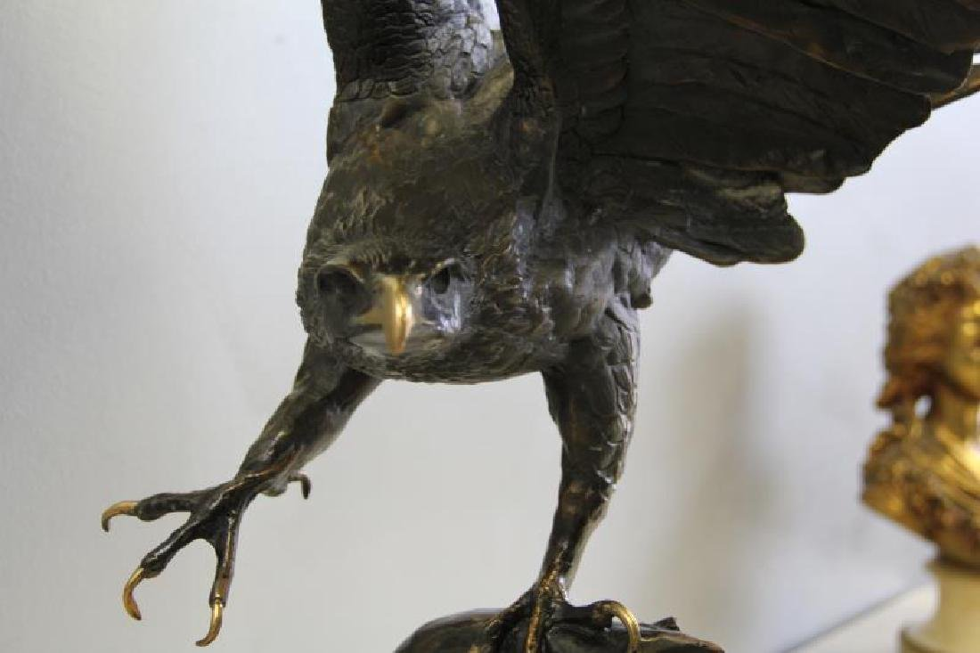AFTER MOIGNIEZ. Bronze Sculpture. - 5
