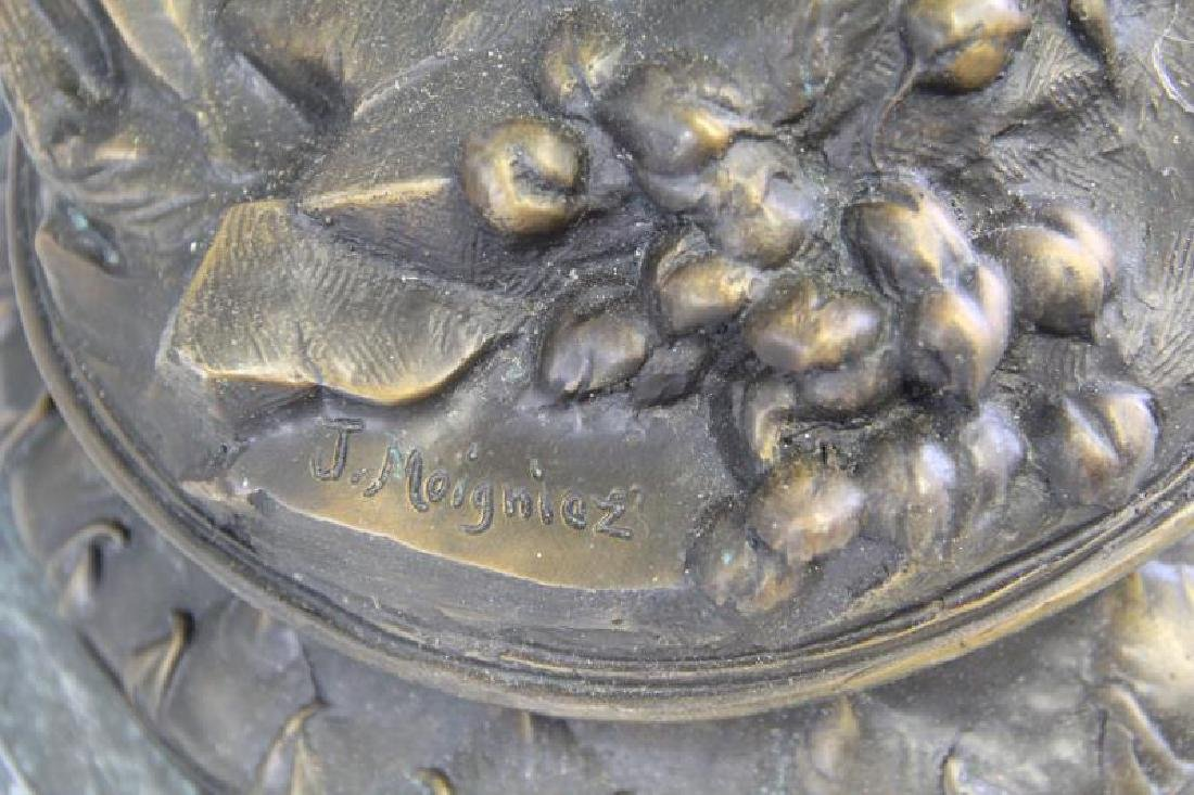 AFTER MOIGNIEZ. Bronze Sculpture. - 6