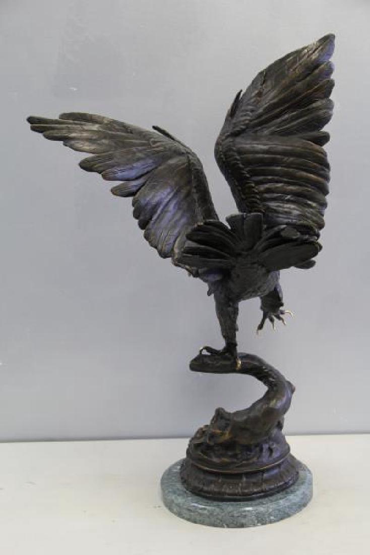 AFTER MOIGNIEZ. Bronze Sculpture. - 9