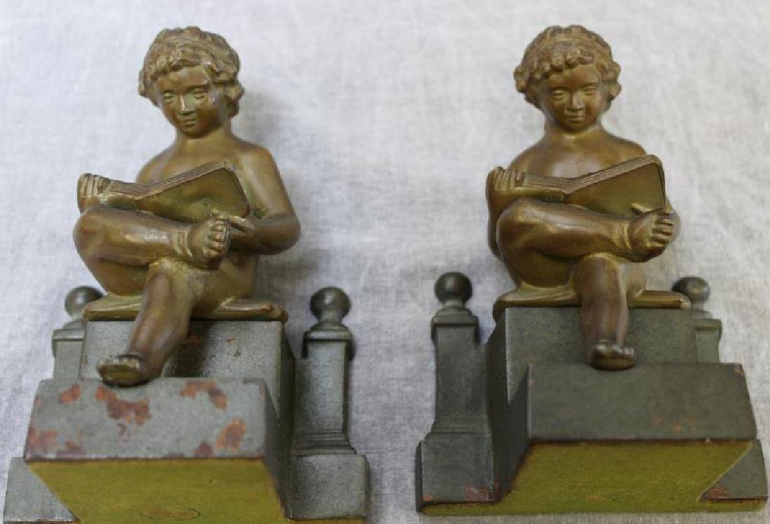 Lot of 10 Patinated Cabinet Bronzes. - 8