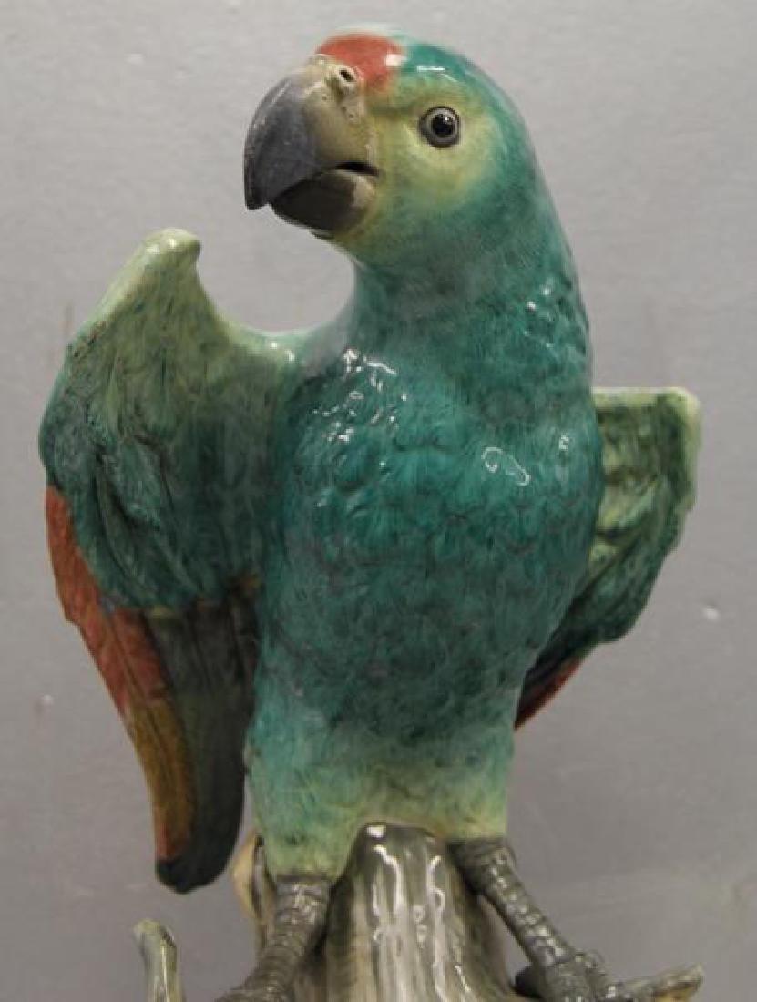 MEISSEN.18th/19th Century Porcelain Parrott As/Is. - 2
