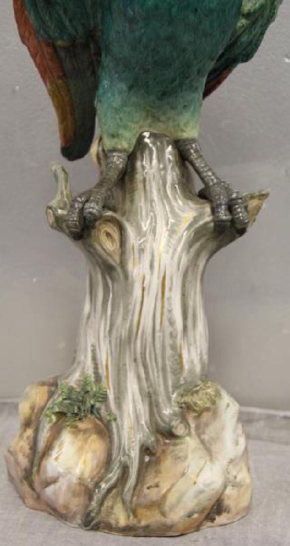 MEISSEN.18th/19th Century Porcelain Parrott As/Is. - 3