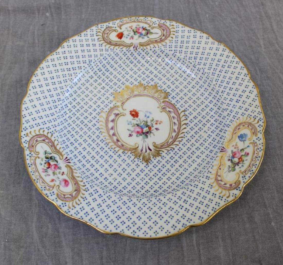Lot Of 6 Sevres Plates and 12 Unsigned  Painted - 2