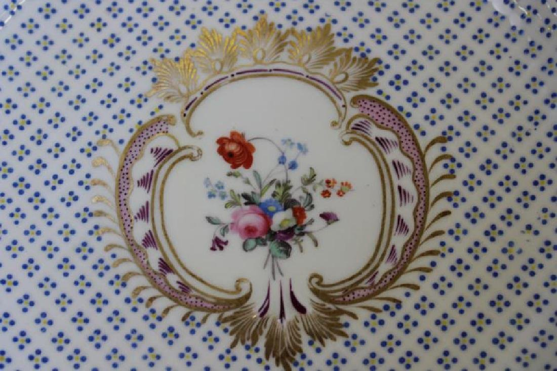 Lot Of 6 Sevres Plates and 12 Unsigned  Painted - 3