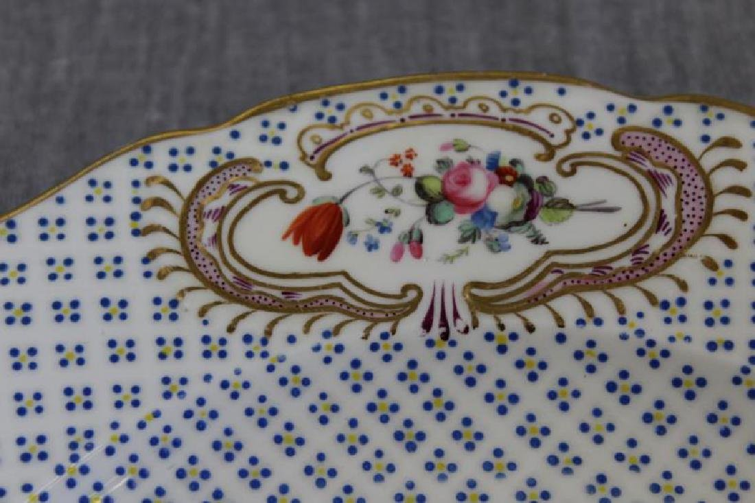 Lot Of 6 Sevres Plates and 12 Unsigned  Painted - 4