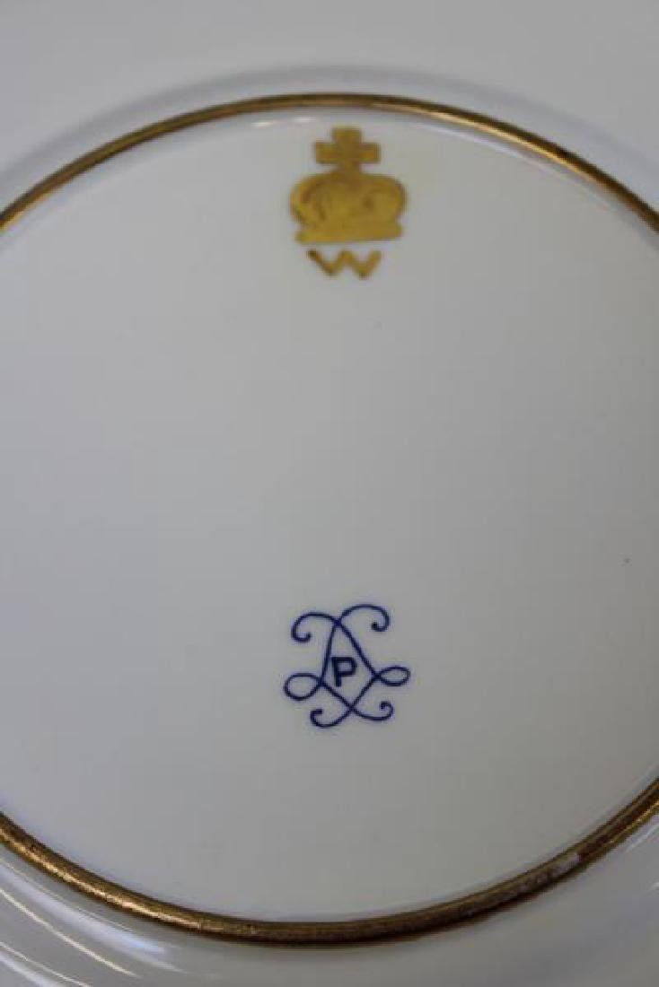 Lot Of 6 Sevres Plates and 12 Unsigned  Painted - 7