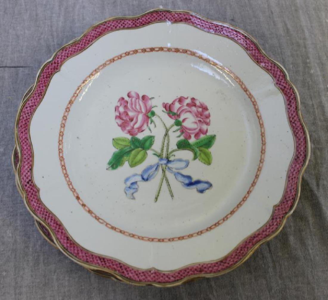 Lot of Assorted Porcelain Plates ,Tazzas and a - 3