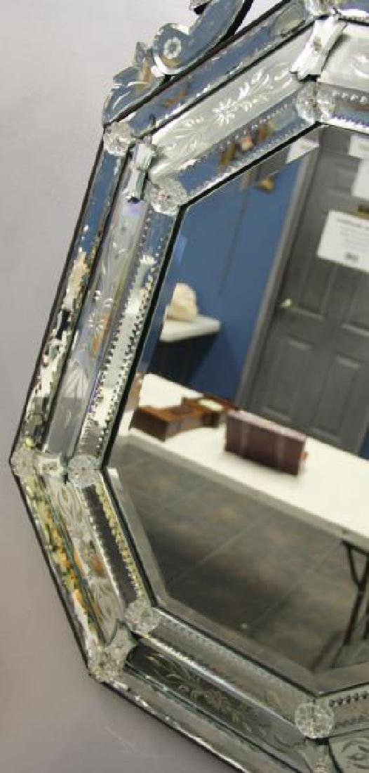 Vintage and Fine Quality  Venetian Glass Mirror - 5