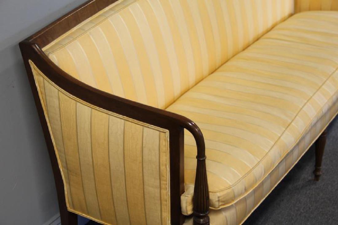 Sheraton Style Down Filled Sofa. - 4
