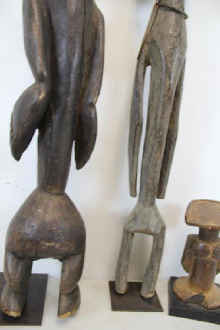3 Antique Carved Tribal / African Figures. - 6