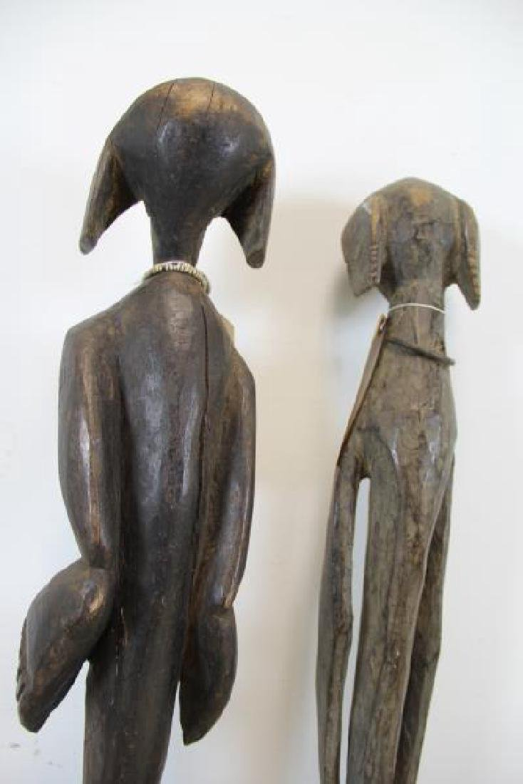 3 Antique Carved Tribal / African Figures. - 7