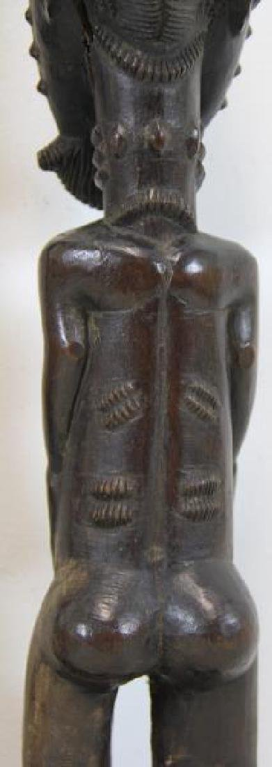 Lot of 5 Antique Tribal / African Wood Carvings. - 4
