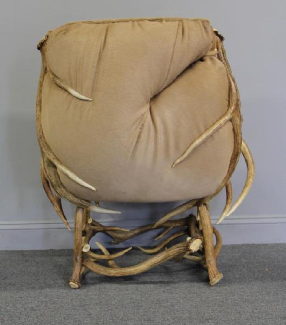 RINFRET. Custom Antler Chair with Hide - 4