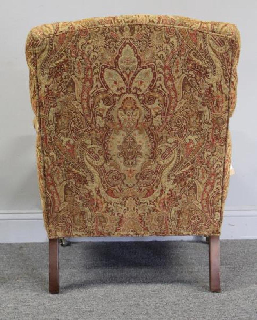 RINFRET. Tufted, Paisley Upholstered Library - 3