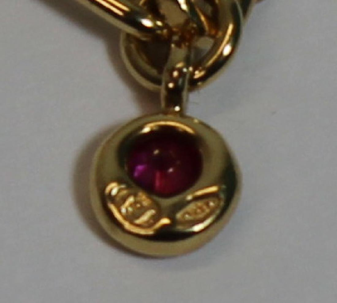 JEWELRY. Chaumet 18kt Gold and Sapphire - 7
