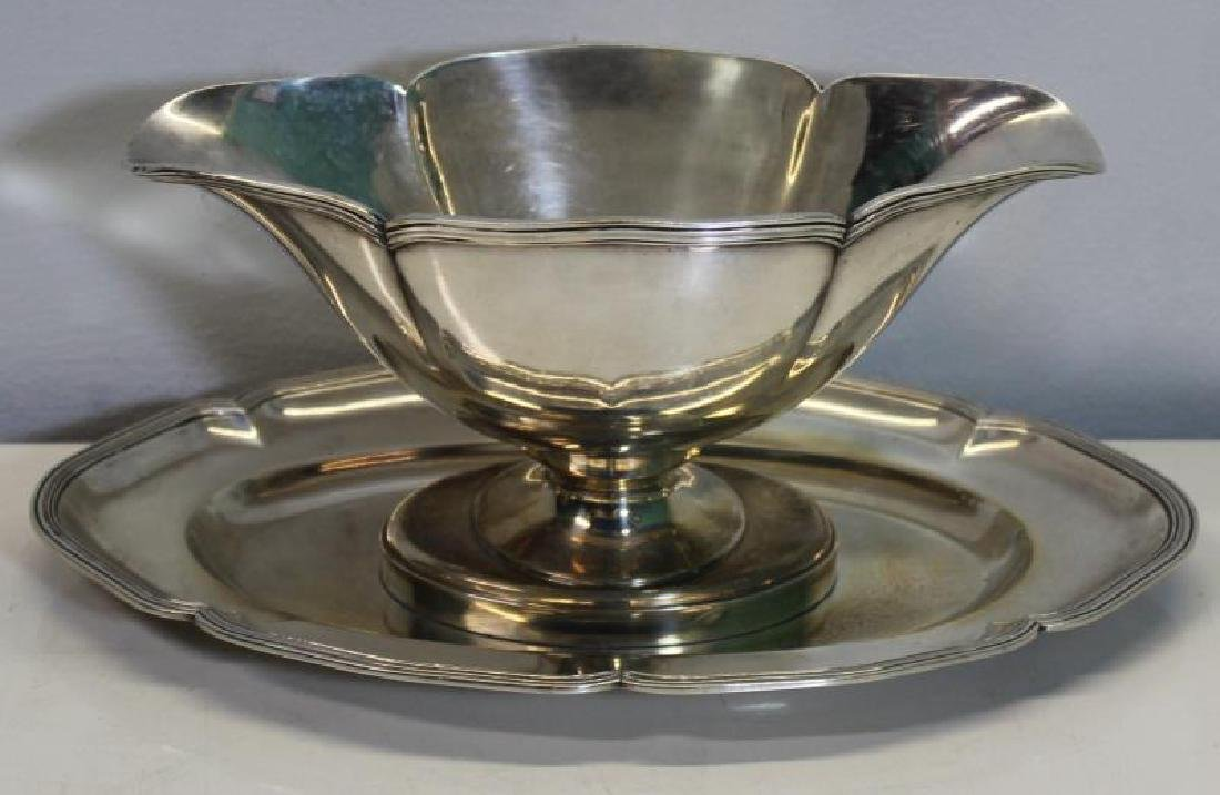 SILVER. Assorted Grouping of Silver Hollow Ware. - 7
